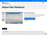 Hollow fiber membrane – Oxymo Technology