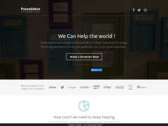 Foundation - Pagewiz Nonprofit Landing page
