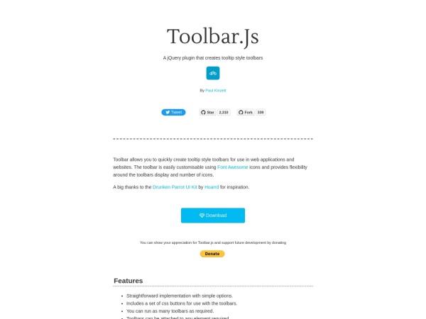 http://paulkinzett.github.io/toolbar/