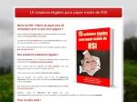 15 SOLUTIONS LEGALES POUR PAYER MOINS DE RSI