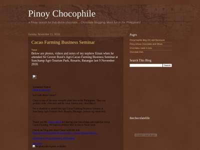 Pinoy Chocophile