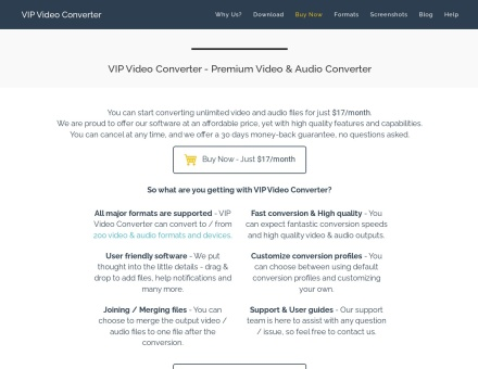 Vip Video Converter – Best Video & Audio Converter