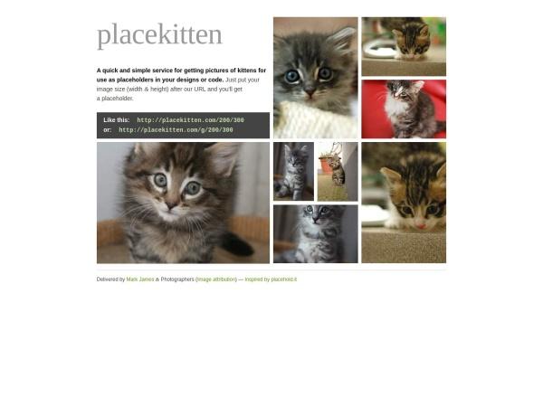 http://placekitten.com