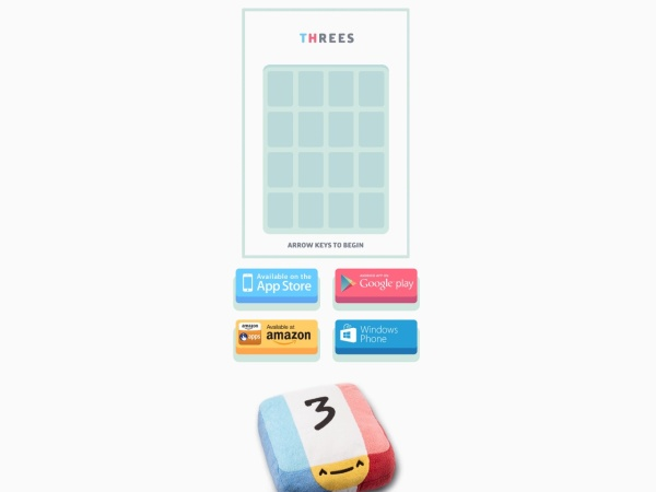 Threes - 25+ Best Browser Games 2020 – You Should Play