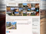 Adventure Journal WordPress Theme example