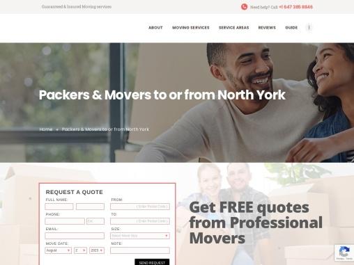 Best Moving Company North York, Toronto