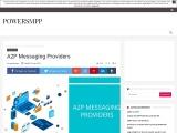 A2P Messaging Gateway Provider, A2P Messaging and A2P Messaging Provider