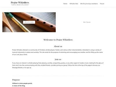 http://praisewhistlers.org/mackhooverwhistles/MackHooverWhistles.html