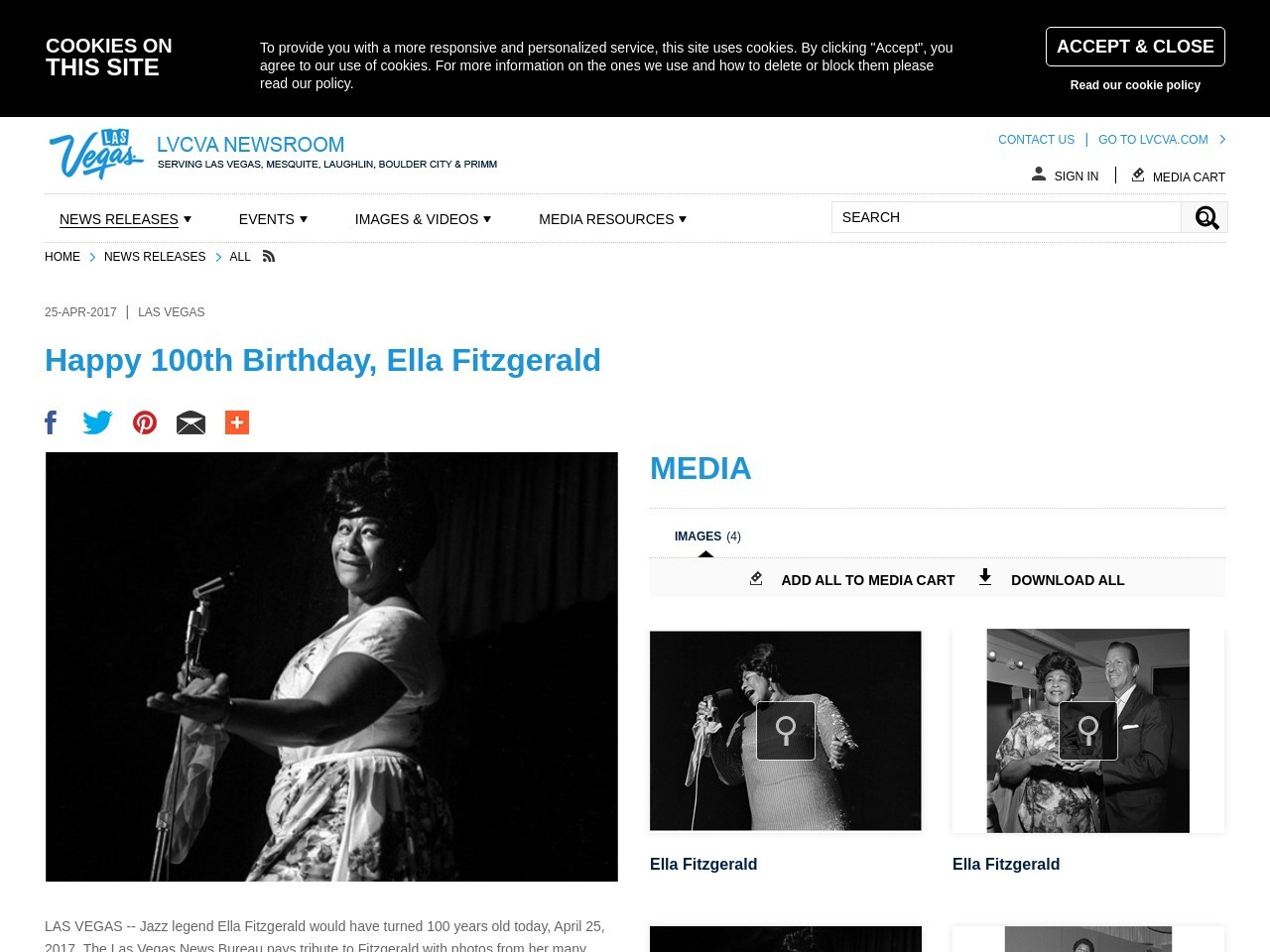 Happy 100th Birthday, Ella Fitzgerald