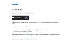 Priceline.com Uk screenshot
