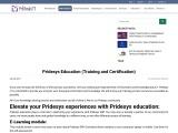 Education and Training Skills   Pridesys IT Ltd