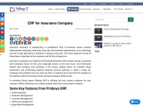 ERP For Insurance Company | Pridesys IT Ltd