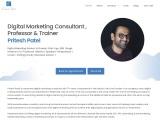 Pritesh Patel – Digital Marketing Consultant and Trainer in Burlington, Canada