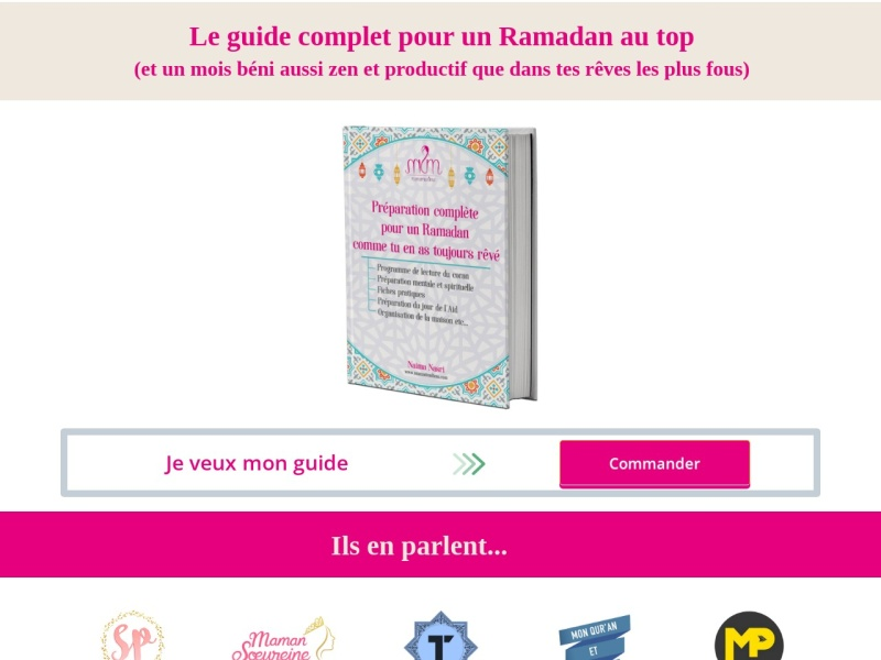 ebook ramadan special femme preparation complete