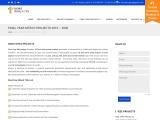 2021 Final Year MTech Projects Chennai