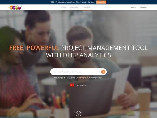 FindNerd- Free Project Management Tools