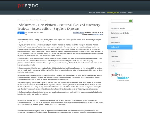Online B2B Marketplace for Industrial Machines – Manufacturers & Suppliers – Buyers/Sellers