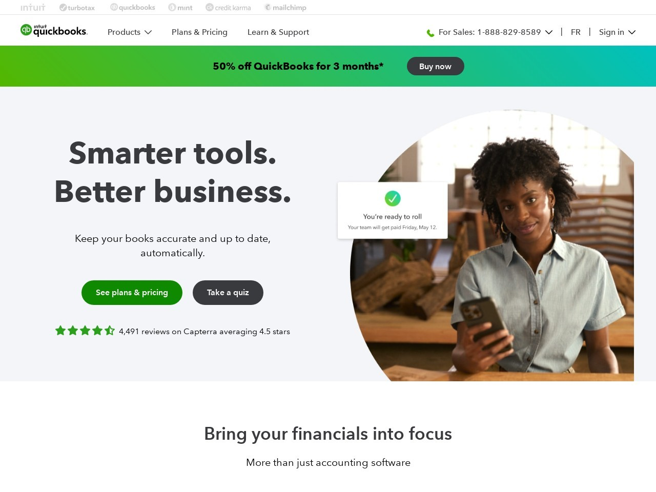 Quickbooks Canada screenshot
