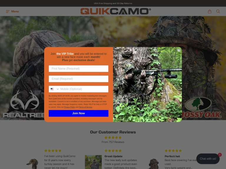 QuikCamo screenshot