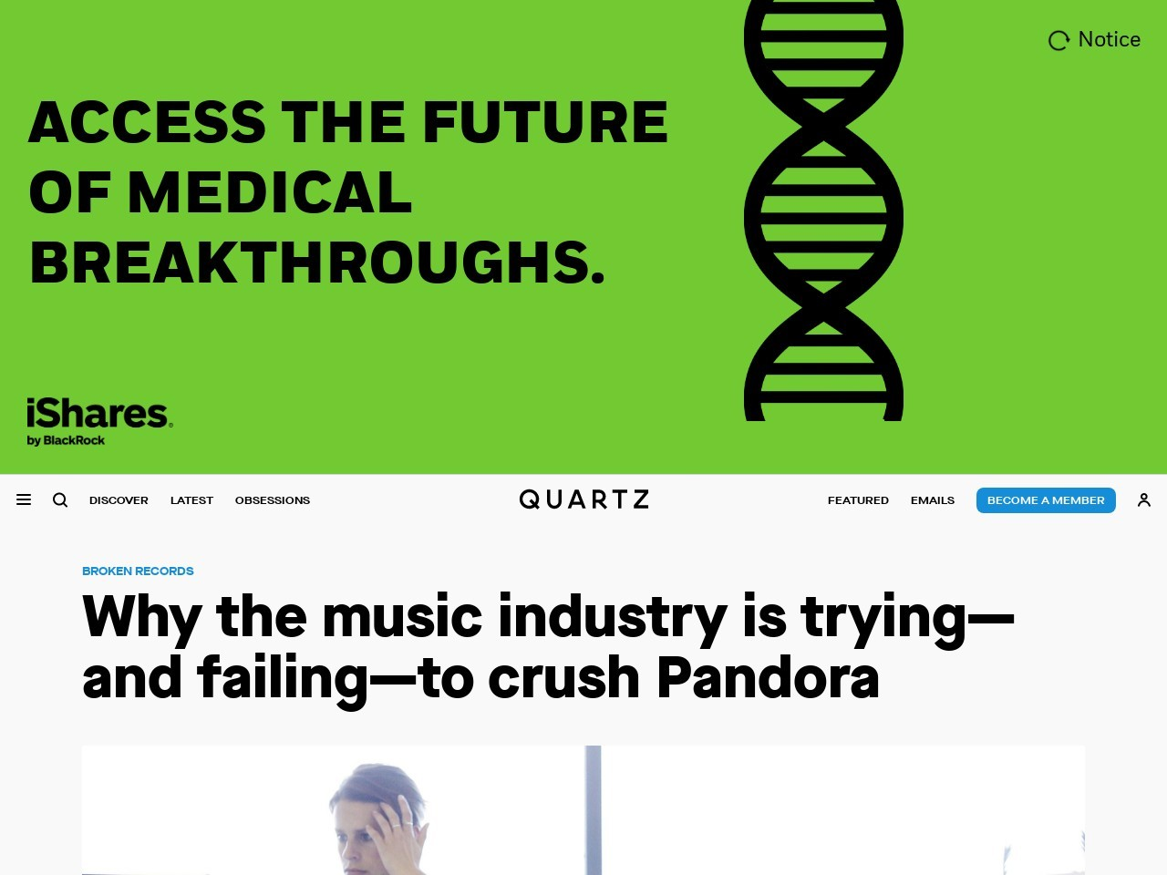 Why the music industry is trying—and failing—to crush Pandora