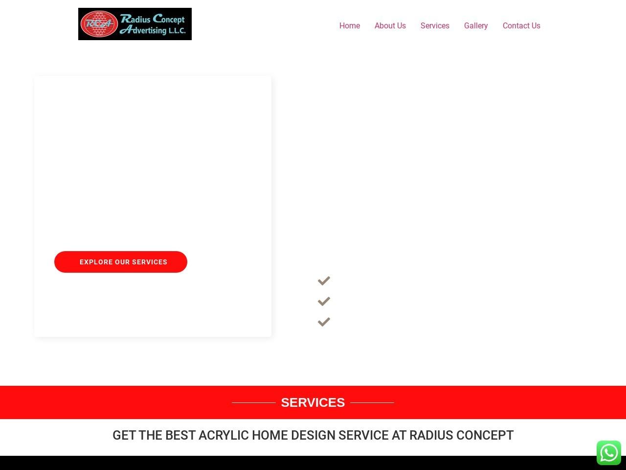 Radius concept –  exhibition design company in dubai.