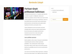 ravintolalampo.fi screenshot