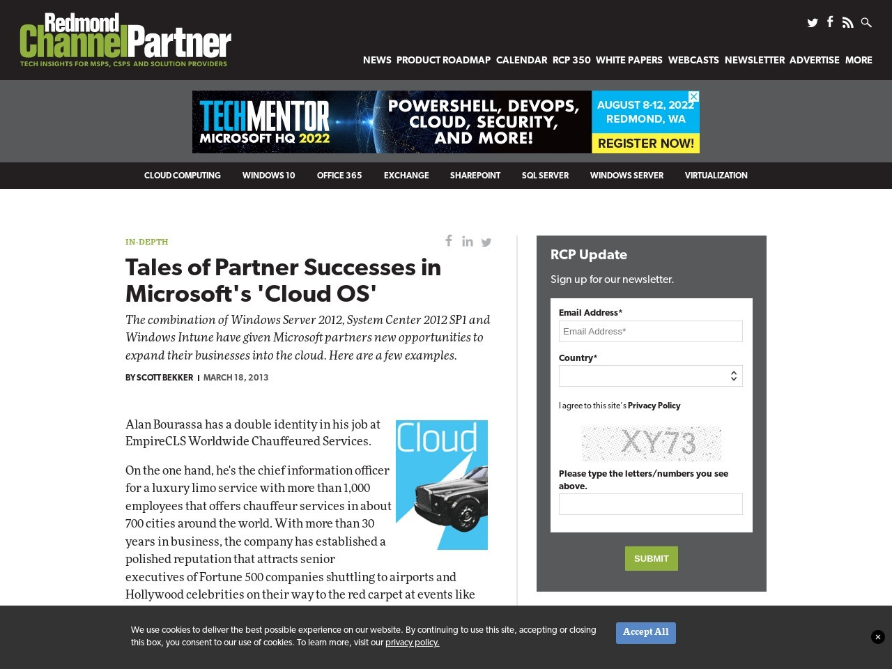 Tales of Partner Successes in Microsoft's 'Cloud OS'