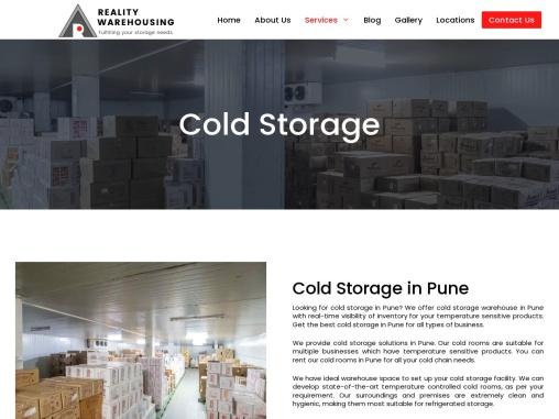 Best Cold Storage Service in Pune