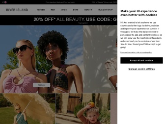 riverisland.com screenshot
