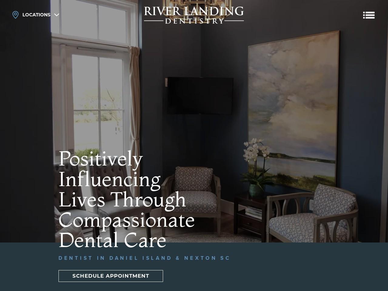 riverlandingdentistry.com/ screenshot