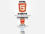 HTML5KARUTA – 「HTML5カルタ」で覚えるHTML5の108つのタグ