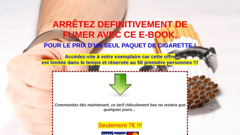 le manuel eft de zero cigarette coaching