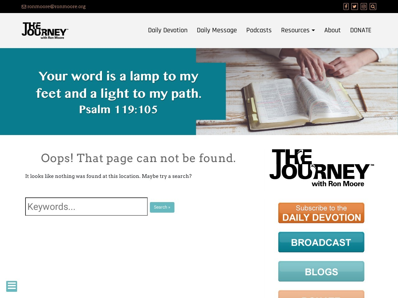 CELEBRATION! | Acts 2:41 – The Journey Ministry with Ron Moore