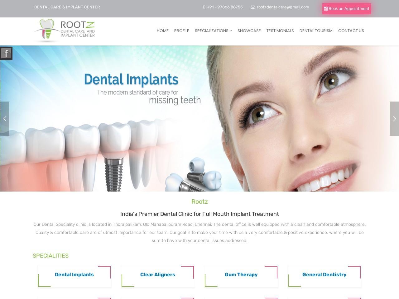 orthodontics Centre in Navalur Chennai – Rootz Dental Care