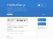 http://roshiro.github.io/TitleNotifier.js/