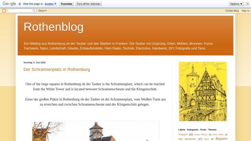 rothenblog.blogspot.de Vorschau, Rothenblog