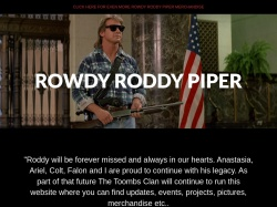 Official Rowdy Roddy Piper Website - Rowdy Roddy Piper