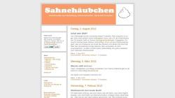 sahnehaeubchen.twoday.net Vorschau, Sahnehäubchen
