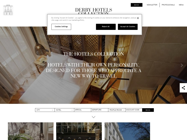 Free Breakfast with this promocode   Derby Hotels Collection, Barcelona, Madrid, Paris and London