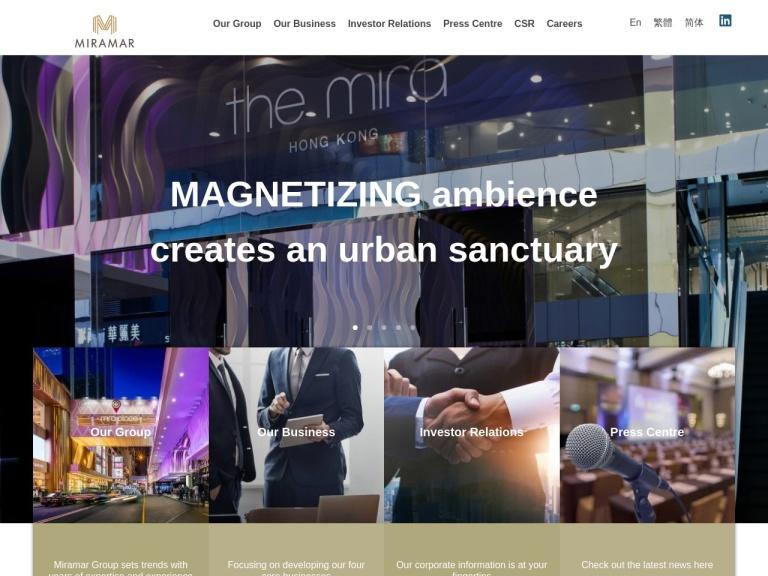 Miramar Group screenshot