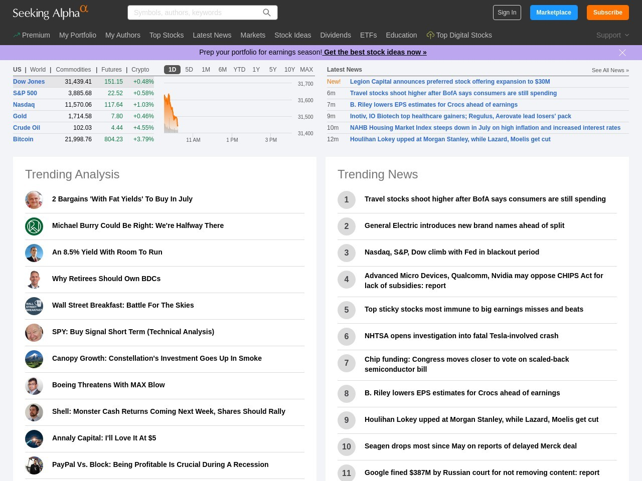 Stock Traders Flock Back To Gold ETFs – Seeking Alpha
