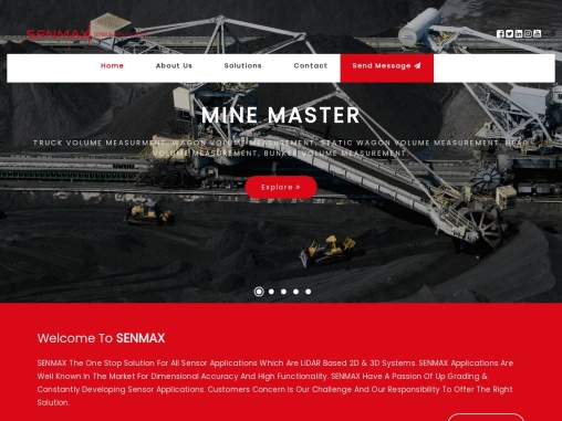 Real Time Load Scan system for Industries | Senmax Technologies