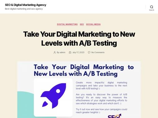Social media marketing management company