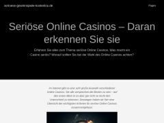 serioese-gewinnspiele-kostenlos.de | jetzt kostenlos mitspielen