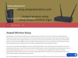 www.setup.ampedwireless.com : Amped Wireless Router Setup