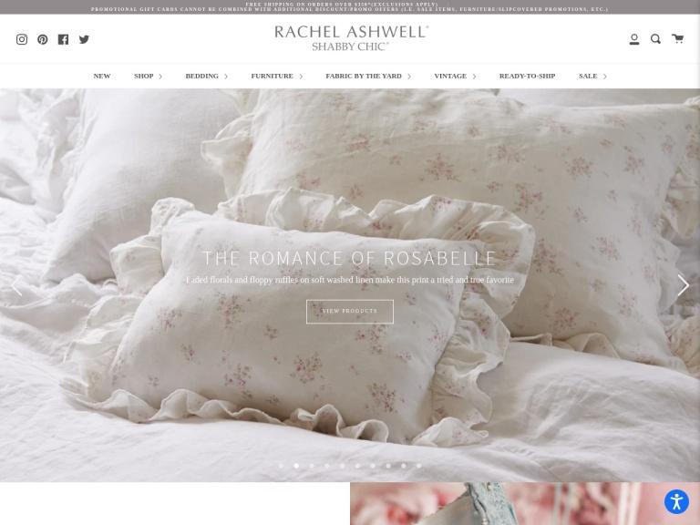 Rachel Ashwell Shabby Chic Couture screenshot