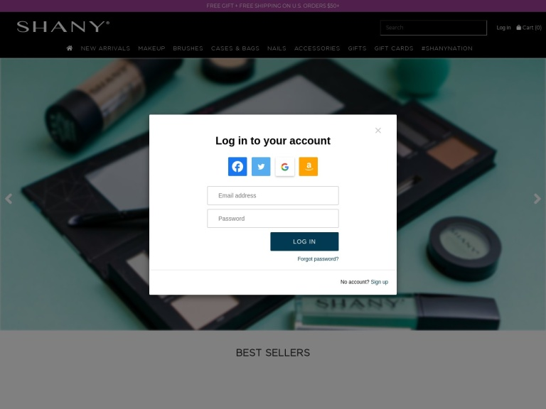 Shany Cosmetics screenshot