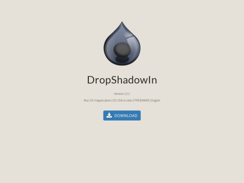 DropShadowIn for Mac - Sheepapp