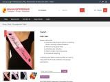 Customized Sashes for Farewell- Shivani Enterprises