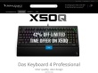 Shop at Das Keyboard with coupons & promo codes now